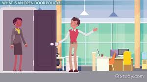 open door policy meaning advanes