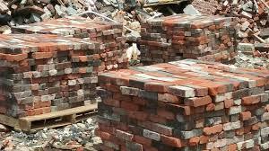 old plantation mixed bricks