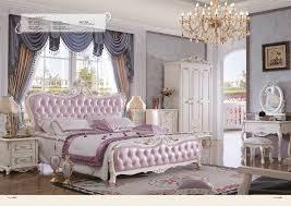 2016 Limited Hot Sale King Antique No Genuine Leather Cabecero Cama Muebles  Para Casa Bedroom Furniture