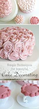 Small Picture Best 20 Simple cake decorating ideas on Pinterest Simple cakes