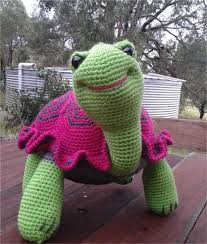 Free Crochet Turtle Pattern Impressive Ninja Crochet Pattern Free Tutorials And Great Ideas The WHOot