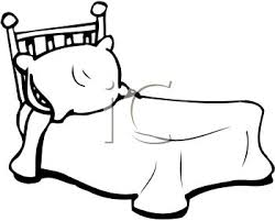 blanket clipart black and white. bed clip art black and white blanket clipart i