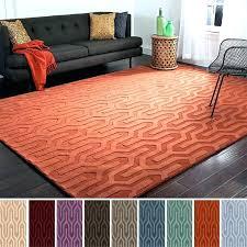orange contemporary rugs multi contemporary area rugs orange and blue