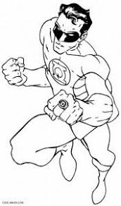 Small Picture Printable Green Lantern Coloring Pages For Kids Cool2bKids