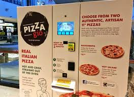 Pizza Vending Machine Interesting Pizza Gio Is Australia's First Pizza Vending Machine CNET