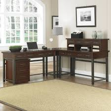 vintage style office furniture. Best L Shaped Desk Home Office With Vintage Style Furniture R