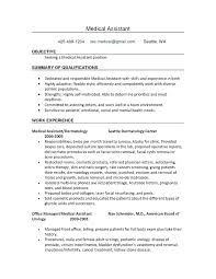 How To Make A Medical Assistant Resume How To List Certifications On Resume Certified Medical Assistant
