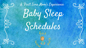 Baby Sleep Schedules Bert Anderson Me Before Mom