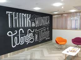 wall pictures for office. Chalk Wall In Nucleus Office - Dāvology: David English Art Director / Designer Pictures For C