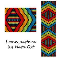 Seed Bead Loom Patterns