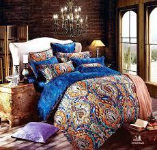 cotton comforter sets queen cotton luxury bedding sets king queen size bohemian cotton comforter bedding sets
