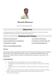 government relations resumes government relations officer resume
