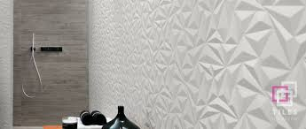 3d wall collection tiles on devon