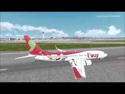 P3d V4 5 Pmdg 737 Tway 239 Nagoya Rjgg Ngo Landing With