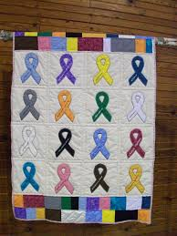 cancer quilt #1 made by my sis | Cancer patients | Pinterest ... & cancer quilt #1 made by my sis Adamdwight.com