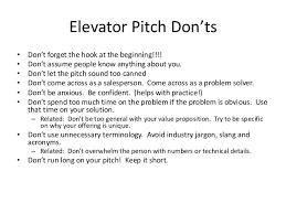 What Is A Elevator Speech Writing An Elevator Speech
