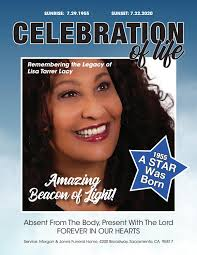 Celebration of Life: Remembering The Legacy of Lisa Tarrer Lacy Tribute  Magazine by THE HUB Magazine - issuu