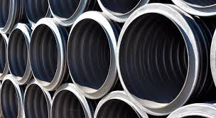 hdpe pipe for drainage systems perforated