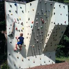 outdoor rock climbing wall backyard rock wall how to build a backyard rock climbing wall outdoor