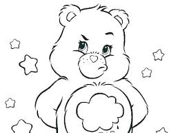 Bear Printable Care Bears Printable Coloring Pages Free Bear For