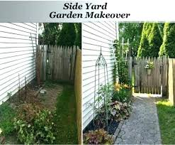 Small Backyard Landscape Designs Magnificent Side Yard Ideas Stories Simple Cupsrunningover