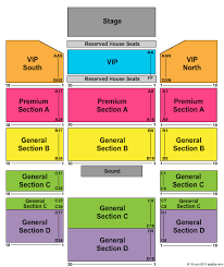 Winstar World Casino Event Center Seating Chart Vegas 2019