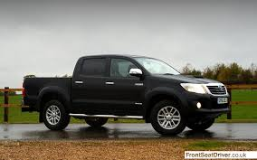 Toyota Hilux 2014 Phil Huff FrontSeatDriver.co.uk – Front Seat Driver