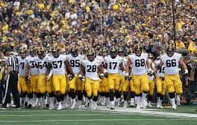 The Iowa Hawkeyes Face The Northwestern Wildcats In A Big