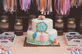 Dream Catcher Baby Shower Cake Dream Catcher Baby Shower 21
