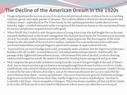 The Great Gatsby Failure Of American Dream Quotes Best Of Great Gatsby Quotes Decline American Dream Best Quote 24