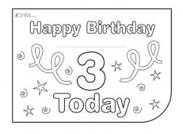 printable children s birthday cards childrens birthday card for a 3rd birthday visit ichild