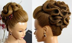 Wedding Hair Style Up Do wedding hairstyles for long hair bridal updo rose bun makeup 3361 by wearticles.com