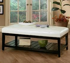 Upholstered Coffee Table Diy Diy Coffee Table With Seating Leather Ottoman Coffee Table Ideas