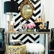 glam dresser decor