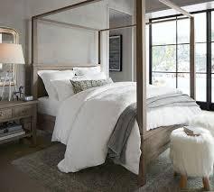 Farmhouse Canopy Bed | Pottery Barn AU | Bedroom ideas | Pinterest ...