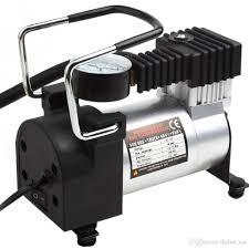 Giá bán Bơm lốp, bơm hơi điện ô tô xe máy mini 12V -220V Heavy Duty Air  Compressor 120W bảo hành 6 tháng