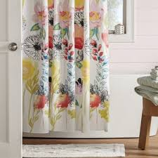 floral shower curtain. Appenzell Shower Curtain Floral