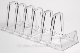 Acrylic Plate Stands For Display Delectable Plate Rack Adjustable Clear Acrylic Display Stand 32 Or 32 Plates