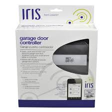 z wave garage door 2Shop Iris Garage Door Internet Gateway at Lowescom