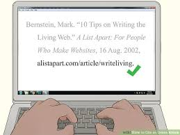4 Ways To Cite An Online Article Wikihow