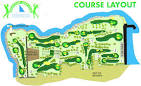 Map & Course Layout of GoldCoast Golf Club | Golf clubs, Golf ...
