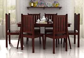 2 seater dining table online. 6 seater dining set 2 table online