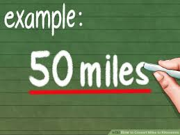 Steps To Miles Conversion Chart Approximate How To Convert Miles To Kilometers 9 Steps With Pictures
