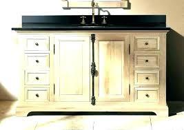 amazing bathroom vanity single sink inch 60 menards