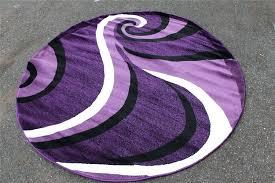 round purple rug round purple contemporary area rug