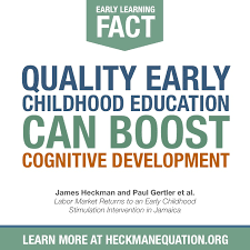 early education can boost cognitive development the heckman equation early education can boost cognitive development