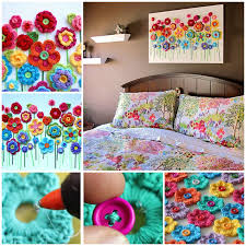 diy on flower wall art step by step