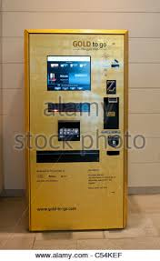 Gold Vending Machine Fascinating Gold To Go Gold Atm Gold Vending Machine Dubai Stock Photo 48