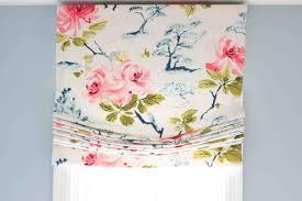 diy roman shades flowery relaxed diy roman shade tutorial