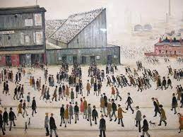 Lowry's 'Going To The Match' Is Up For Sale
